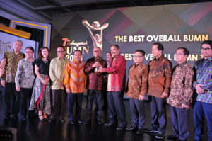 PTBA The Best Overall BUMN 2018